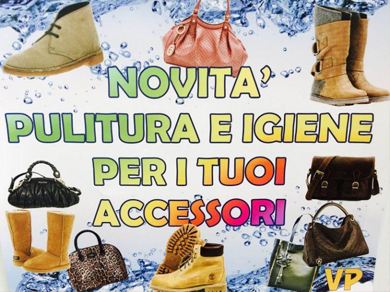 Pulizia scarpe e accessori